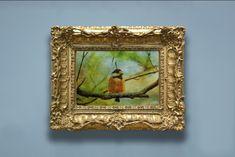 Printable digital water colour art prints for decor by artifiedwatercolours Robin Bird, Watercolour Art, Bird Art, Printable Wall Art, Etsy Seller, Printing, Printables, Art Prints, Digital