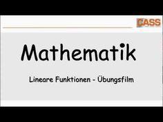 Mathe Kl. 8/9  - Lineare Funktionen - Erklärungsfilm - YouTube