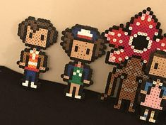 Stranger Things Perler Beads