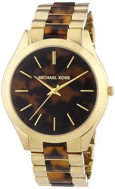 Michael Kors MK4284 - Reloj de cuarzo para mujer, con correa de diversos materiales, color multicolor