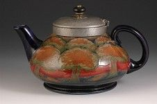 William Moorcroft Pottery, eventide teapot