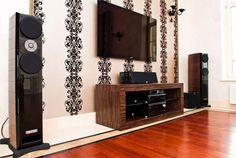 дневник дизайнера: Мебель для домашнего кинотеатра и аппаратуры Hi-Fi, High End класса