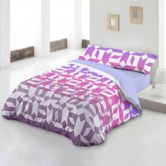 Funda Nórdica Harris violeta