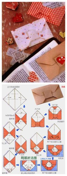 Origami - Bow Envelope # A4 paper folded out just down 20 yuan face value of HK, take the reimbursement money to others when you can.