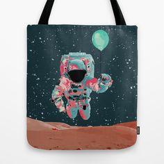 Cosmo Astro II Tote Bag by Jacek Muda #tote #bags #totebas #illustration #design #cosmic