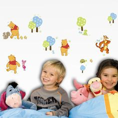 Superdecò P for Pooh - Whinnie the Pooh wallstickers