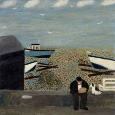Gary Bunt | Give us a Chip I know my master very well, So if I'm good and sit, And be on my best behaviour, Then he'll give me a chip.
