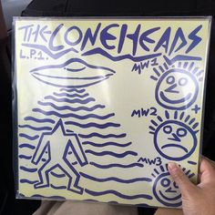 Been waiting for The Coneheads on wax. So pumped.