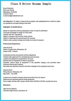 School Bus Driver Resume Cool Stunning Bus Driver Resume To Gain The Serious Bus Driver Job