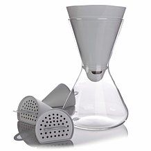 Soma Hourglass Carafe Water Filtration System