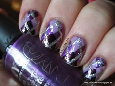 Cuti-CLUE-les: Purple Plaid
