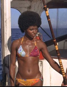 the first black bond girl