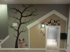 40 Good Ideas Under Stairs for Playhouse Gorgeous 40 Good Ideas Under Stairs for Playhouse decorrea. Under Stairs Playroom, Under Stairs Playhouse, Indoor Playhouse, Build A Playhouse, Simple Playhouse, Playhouse Ideas, Firewood Storage, Stair Storage, Playroom Design