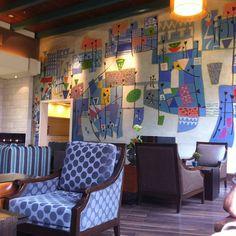 Colourful Lobby at the Dan Accadia in Hertzilia Louis Vuitton Neverfull, Israel, Dan, Color, Instagram, Colour, Colors