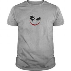 Cool horror and scary face T shirts
