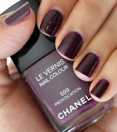 Chanel, Provocation spring 2014 Really like the first shade (purple ish) and Don't honk your Thorn- Andrea