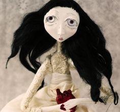 """The Unhappy Bride"" - A Black Eyed Suzie doll"