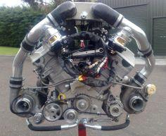 Hayabusa Turbo   Suzuki Hayabusa Engine Based 2 8 Liter V8 Twin Turbo Engine By
