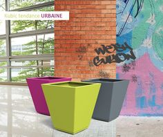 guyon mobilier urbain jardiniere metal kubic Canning, Metal, Street Furniture, Lawn And Garden, Home Canning, Conservation