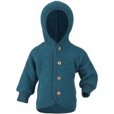 Jachetă cu un design modern, fabricată din lână merinos moale și călduroasă, 100% organică. Lâna merinos este cel mai delicat material pentru copilul tău; este perfectă pentru activități în aer liber, flexibilă pentru cei mai zvăpăiați copii și rezistentă la apă și la mizerie.   - nasturi mici din lemn și o glugă pufoasă   Toate produsele Engel și sunt produse integral în Germania. Fleece Vest, Hoodies, Logos, Sweaters, Clothes, Google, Fashion, Moda, Sweatshirts