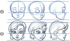 How to draw disney style eyes faces hair art dogs. Cartoon Head, Drawing Cartoon Faces, Drawing Heads, Human Drawing, Disney Style Drawing, Disney Art Style, Disney Drawing Tutorial, Cartoon Tutorial, Art Drawings Sketches