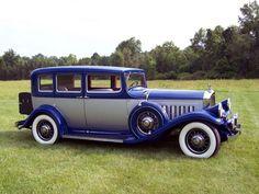 1932 Pierce Arrow Twelve Model-53 Touring Sedan