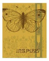 size: Art Print: Inspire by Ricki Mountain : Framed Artwork, Wall Art Prints, Poster Prints, Canvas Prints, Posters, Framed Prints, Word Art, Vintage World Maps, Illustration