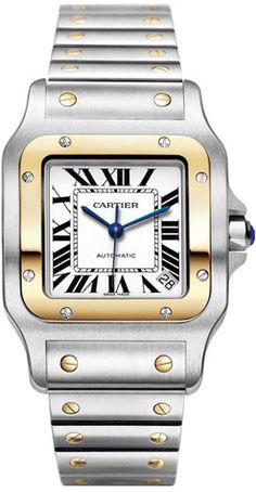 Cartier Santos Galbee Pilot saati denilen traji-komik hadisenin ilk örneğinin günümüze kadar gelmiş en popüler hali... ; ) Mühendislik açısından tam bir felaket olan çerçeve vidaları Santos'un devrindeki uçak göstergelerinden mülhem, Audemar Piquet'nin de muhtemel ilham kaynağı...