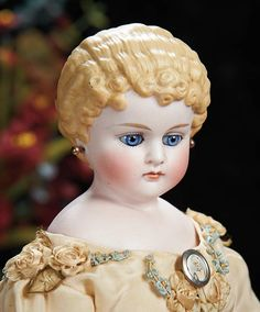The Lifelong Collection of Berta Leon Hackney: 433 German Bisque Child with Glass Eyes, Model 896, by Alt, Beck and Gottschalk