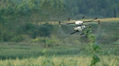 Improve your crops with the DJI Agras Radar Drone. With the DJI Agriculture Management Platform, this aircraft monitors in real time. Drone App, New Drone, Latest Drone, Flight Lessons, Flying Lessons, In China, Precision Agriculture, Professional Drone, Space City