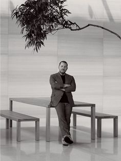 Jonathan Ive: A Rare Look at Design Genius Jony Ive: The Man Behind the Apple Watch...Vogue article 2014-10-01 by Robert Sullivan