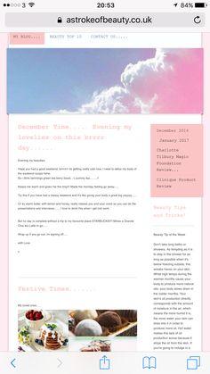 My blog.....