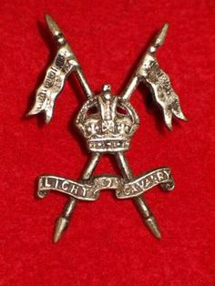 7th Light Cavalry Cap Badge