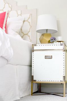 Awesome tutorial for how to build a base for thrift store trunks and paint. I want to do this!