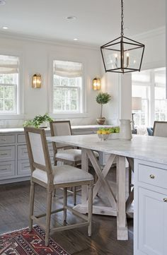 Charmant Kitchen | Kitchen Lighting | Counter Bar Stools · Kitchen Island And Table  ...
