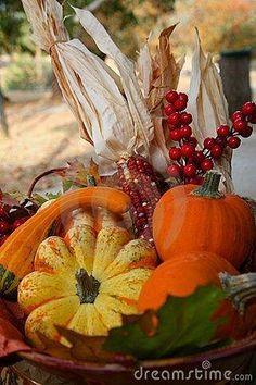 Fall Thanksgiving Harvest Basket by anita