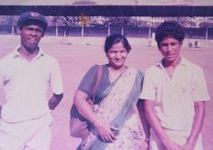 """Through the memories of a teacher: Ragini Desai was present when Ramakant Achrekar blasted Sachin Tendulkar and Vinod Kambli for batting on and on and putting on a 664-run partnership against a weak team. She knows of all the vada-pav (a street food) escapades of the two friends, and she has a valuable notebook titled """"Cricket"""".."""