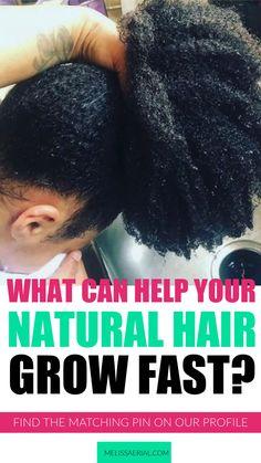 Natural Hair Growth Tips, How To Grow Natural Hair, Natural Hair Care, Natural Hair Styles, Natural Hair Treatments, Natural Remedies, Fast Hairstyles, Protective Hairstyles, Protective Styles