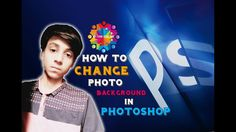 How To Change Photo Background In Photoshop | The Great Indian Tech | Pi...