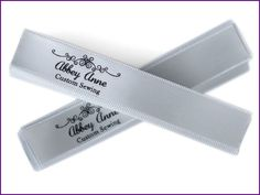 100 Personalized satin ribbons clothing labels by girlsfever