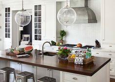 Scarsdale, NY Contemporary Shingle Style Renovation - Traditional - Kitchen - New York - Alisberg Parker