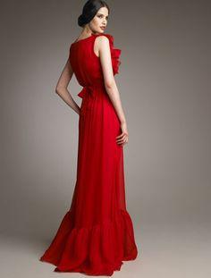 Valentino red ruffles