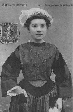 Jeune fille de Quimperlé