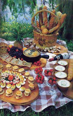 Sample buffet presentation