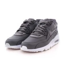 Nike Air Max 90 Leather Men's Size 9 320519 001 All Black