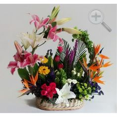 Floreria - Flores Elegantes de Mexico arreglo floral exotico