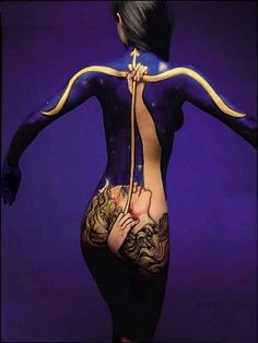 45 beautiful body paint features - body paint is at once beautiful, titillating and extraordinary. body painting turns human skin into a canvas, Dream Tattoos, Body Art Tattoos, Cool Tattoos, Small Tattoos, Classy Tattoos, Burning Man, Human Painting, Painting Art, House Painting
