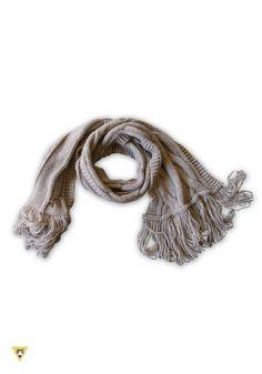sciarpa in lana mohair col. beige.......ispirazione anni 60