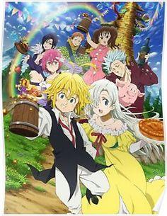 trendy wallpaper anime nanatsu no taizai Seven Deadly Sins Anime, 7 Deadly Sins, Elizabeth Seven Deadly Sins, Otaku Anime, Manga Anime, Anime Angel, Nisekoi, Anime Love, Awesome Anime