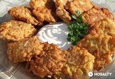 Fokhagymás cukkinifasírt Sin Gluten, Great Recipes, Dinner Recipes, Hungarian Cuisine, Torte Cake, Russian Recipes, What To Cook, Vegetable Recipes, Tapas